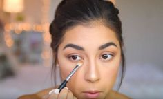 Do you want the perfect fall makeup look? Bring out those contours, nude to dark lipsticks and peach to brown eyeshadows! Here's a tutorial for you. How To Do Makeup, Makeup Tips, Hair Makeup, Makeup Tutorials, Makeup Ideas, Everyday Makeup, Everyday Look, Bridal Makeup, Wedding Makeup