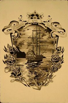 Tattoo inspiration, this would make a cool back or chest piece... by Chris Savage