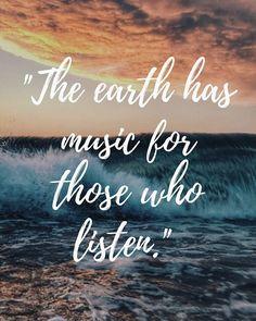 Ocean nature quote