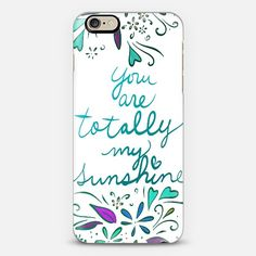 You are totally my sunshine iPhone case by Lisa Argyropoulos get $10 off using code: H5E5FU