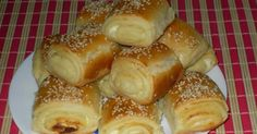 Salty strudel with Cheese, Easy and Delicious – Page 2 of Make it on your own! Salty strudel with Cheese, Easy and Delicious – Page 2 of 2 – Vesna's Recipes Musaka, Macedonian Food, Kolaci I Torte, Good Food, Yummy Food, Food Tags, Croatian Recipes, Croatian Cuisine, Bread And Pastries