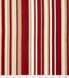 45'' Home Essentials Print Fabric-Glee/Red: home decor fabric: fabric: Shop | Joann.com