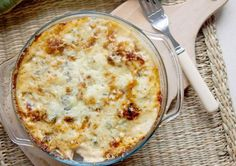 Blue cheese and caramelized onion potatoes au gratin. (in Polish and English) Milk Recipes, Side Dish Recipes, Potato Recipes, Veggie Recipes, Side Dishes, Veggie Food, Yummy Recipes, Legumes Recipe, Food Tech