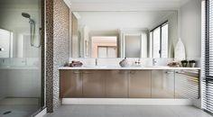 Style Moderne taps, spouts and free standing bath mixer. Custom Metal Work, Bathroom Vanity Designs, Bath Mixer, John Wood, Commercial Design, Girls Dream, Double Vanity, Mirror, Interior Design