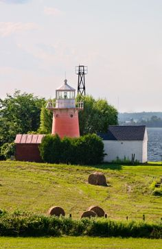 Lighthouse in Isle LaMotte Vermont
