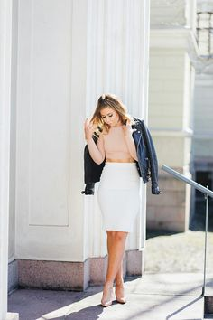 Crop Top & Pencil Skirt