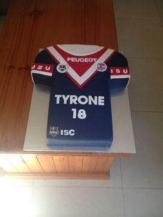 Sydney Roosters Jersey 50th Birthday, Birthday Party Themes, Birthday Cake, Jungle Theme Cakes, Cake Boss, Roosters, My Goals, Themed Cakes, Kobe