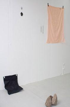 installation #art #tape #fabric