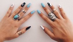 beautifulll #NailsArt #LongNails
