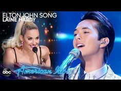 """Laine Hardy Sings """"Something About the Way You Look Tonight"""" by Elton John - American Idol 2019 - YouTube"""