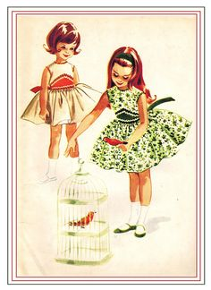 McCall's 5427 UNCUT Vintage 60s Lovely Toddler Girls Party Dress and Petticoat Organdy Lined Bodice Sewing Pattern Size 2