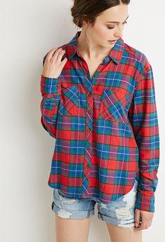 Tartan Plaid Flannel | Forever 21 - 2000096141