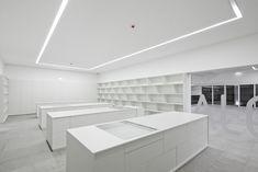 Plataforma das Artes e da Criatividade,© João Morgado Black Building, Loft, Bed, Furniture, Home Decor, Creativity, Wedge, Art, Homemade Home Decor