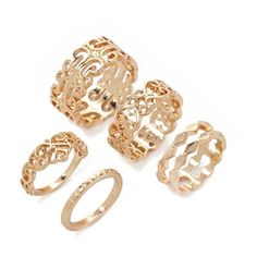 Forever 21 Filigree Midi Ring Set ($5.90) ❤ liked on Polyvore featuring jewelry, rings, knuckle rings, forever 21 jewelry, midi rings, band rings и above-the-knuckle rings