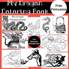 Dragon Books and Activities {Free Printables}