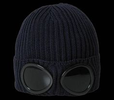 Gangster beanie fashion with sunglasses.....OMG
