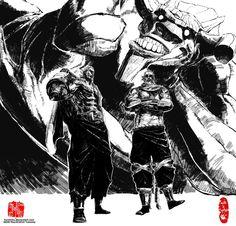 AsthticR, http://osy057.deviantart.com/art/Wolfboy36-s-Rasshu...