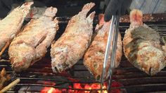 ASIAN STREET FOOD - KHMER FOOD - Grilled & BBQ Whole Cow, Chicken, Lobst...
