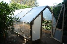 $7 Greenhouse - http://www.offgridworld.com/how-to-build-a-greenhouse-for-7/