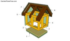 Detailed woodworking project about cat house plans. Building a shelter for your pet is easy and any person can get the job done in a professional manner in just a few days. Wooden Cat House, Cardboard Cat House, Pallet Dog House, Cat House Plans, Small House Plans, Insulated Cat House, Outside Cat House, Feral Cat House, Adirondack Chair Plans