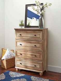 Better Homes And Gardens Crossmill 4 Drawer Dresser Furniture Chest Affordable