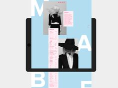 MABE Website on Behance