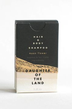 and Body Shampoo Bar by Daughter Of The Land for Of a Kind Hair and Body Shampoo BarHair and Body Shampoo Bar Skincare Packaging, Tea Packaging, Print Packaging, Beauty Packaging, Cosmetic Packaging, Packaging Ideas, Body Shampoo, Shampoo Bar, Label Design