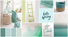 Décoration salle de bain : 3 styles tendances Style Deco, Hello Spring, Inspiration Boards, Interior Architecture, Sweet Home, Tapestry, Concept, Colours, Cabinet