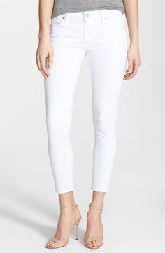 skinny ankle jeans / citizens of humanity