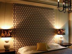 Isabella & Max Rooms: Headboard Wall