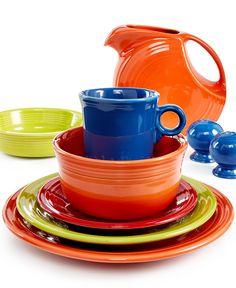 Fiesta Dinnerware - Casual Dinnerware - Dining & Entertaining - Macy's