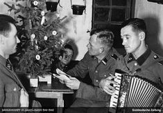 """World War II Pictures In Details: The First Christmas of SS Division """"Prinz Eugen"""""""
