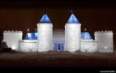 Palais de Bonhomme = Full size Ice Castle | Quebec's Winter Carnival - Carnaval de Québec
