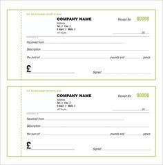 free receipt template fitness pinterest free receipt template