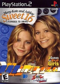 Mary-Kate and Ashley Collection * Electronic Game ~ PlayStation 2 = Sweet 16 Licensed to Drive - 2002