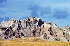 Badlands National Park, South Dakota I've been here and would go again. Maybe campout next time