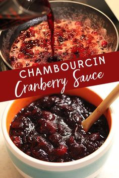 Kick up your Cranberry Sauce this Thanksgiving with this recipe for Chambourcin Cranberry Sauce. Red wine makes this side dish a stand out!