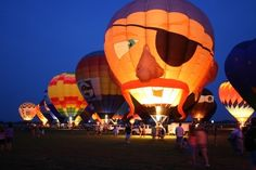 You'll be dazzled by the more than 30 hot air balloons at the Gatesway Balloon Festival in Claremore, Oklahoma. There is also live entertainment, arts & crafts, vendors and tons of food to make this a one-of-a-kind event.