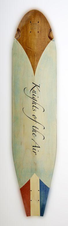 KOTA Longboards Handley Page Type O, Rickenbacker design (bottom).