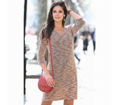 Meltonové striekané šaty s 3/4 rukávmi | modino.sk #modino_sk #modino_style #style #fashion #newseason #autumn #fall Chloe, Fashion, Other Woman, Dress Skirt, Sleeves, Moda, La Mode, Fasion, Fashion Models