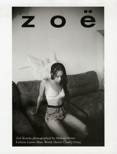 Zoe Kravitz for Wonderland Magazine, F/W 2015