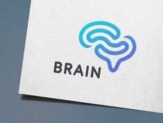 Logo by IKarGraphics on Creative MarketBrain Logo by IKarGraphics on Creative Market Brain Logo-mark by Samadara Ginige Graphic design ideas & inspiration Kreis Logo Design, Vector Logo Design, Logo Design Template, Graphic Design, Corporate Design, Typography Logo, Logo Branding, 99designs Logo, Brain Vector