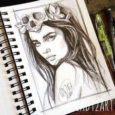How I still adore this sketch #lady2 #art #artist #amazing #artnerd #bestdrawing #bestoftheday #model #hair #ink #pencil #poland #pencilsketch #pencildrawing #polishgirl #girl #nawden #nawden_arts #instagood #instadaily #draw #drawing #sketch #skechbook #moleskine