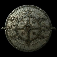 Dawnguard Rune Shield  BASE ARMOR:27 Weight:6 BASE VALUE:450 Additional Effects: +10 Bash damage against vampires, and sustained blocking creates a minor sun shield doing 10 points of damage while draining the wielder's stamina.Class: Light Armor, Shield Upgrade Material: Steel Ingot PERK: Advanced Armors