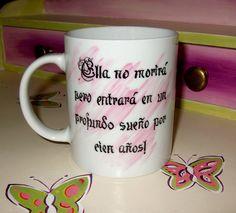 Tazas decoradas on pinterest mugs porcelain and violin - Tazas decoradas a mano ...
