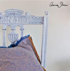 Tecniche Chalk Paint Annie Sloan - All White Italia - All White, Annie Sloan, Chalk Paint, Diy Home Decor, Mirror, Hobby, Painting, Furniture, Vintage