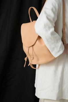 rennes ss16 / siduri backpack tan