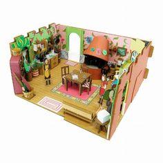 Studio Ghibli 'Arietti' MK07-13 Paper Craft Kit 1/48