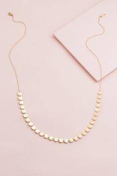 Antigone Long Necklace | Gold (14K) $21