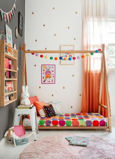 Waterfall For Home Decoration Code: 5812090576 Indian Room Decor, Ethnic Home Decor, Kids Bedroom Designs, Home Room Design, Baby Room Decor, Home Decor Bedroom, Pinterest Room Decor, Colourful Living Room, Home Decor Furniture